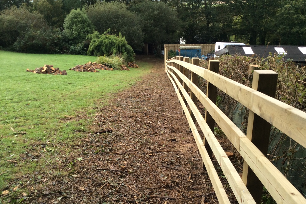 Wooden Fencing Cornwall